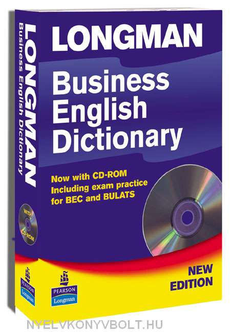 Longman Business English Dictionary Paperback with CD-ROM