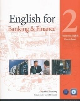 English for Banking & Finance 2 Vocational English Course Book with CD-ROM
