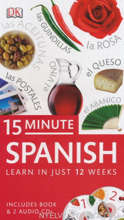 15 Minute Spanish - Learn In Just 12 Weeks