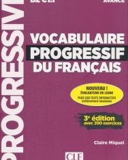 Vocabulaire progressif du français - Niveau avancé - 3eme édition - Livre + CD + Appli-web