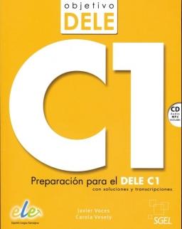 Objetivo DELE C1 + CD Audio MP3 - Preparación para el DELE C1 con soluciones y transcripciones