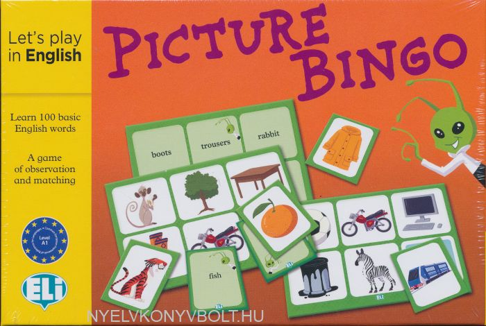 ELI Language Games:Picture Bingo