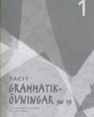 Grammatikövningar för sfi Del 1 Elevfacit