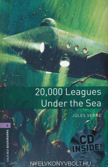 20.000 Leagues under the sea with Audo CD - Oxford Bookworms Library Level 4