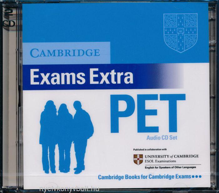 Cambridge Exams Extra PET Audio CD Set