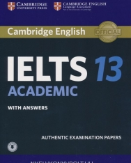 Cambridge IELTS 13 Academic Official Authentic Examination Papers Student's Book with Answers and with Audio