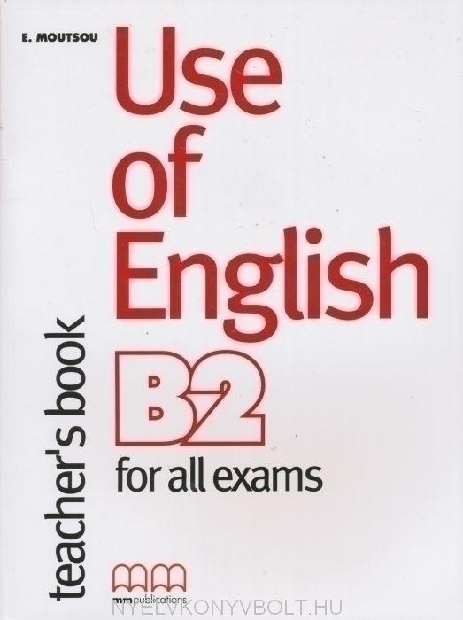 Use of English B2: Teachers Book