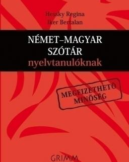 Német-magyar szótár nyelvtanulóknak