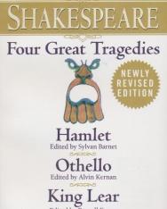 William Shakespeare: Four Great Tragedies - Hamlet, Othello, King Lear, Macbeth