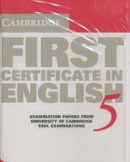 Cambridge First Certificate in English 5 Cassette Set