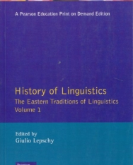 History of Linguistics volume 1 - Eastern Traditions of Linguistics