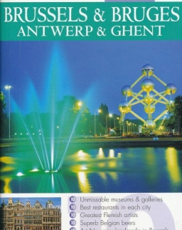 DK Eyewitness Travel Top 10 - Brussels, Bruges, Antwerp and Ghent
