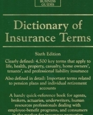 Barron's Dictionary of Insurance Terms