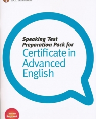 Speaking Test Preparation Pack for Certificate in Advanced English with DVD