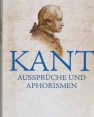 Immanuel Kant: Aussprüche und Aphorismen
