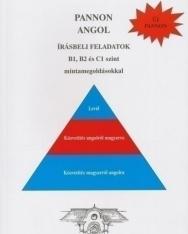 Pannon Angol Írásbeli Feladatok B1, B2 és C1 szint mintamegoldásokkal