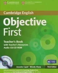 Cambridge English Objective First Teacher's Book with Teacher's Resources Audio CD/CD-ROM