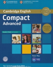 Cambridge English Compact Advanced Student's Book with Answers and Class Audio CDs and CD-ROM