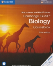 Cambridge IGCSE Biology Third Edition Student's Book with CD-ROM