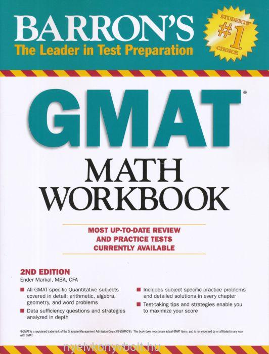 Barron's GMAT Math Workbook 2nd Edition