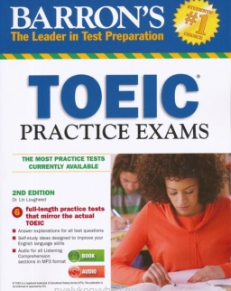 Barron's TOEIC Practice Exams with Mp3 Audio CD - 2nd Editon