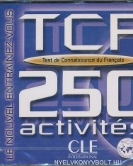 TCF 250 activités (Test de connaissance du francais) CD audio