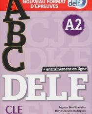 ABC DELF - Niveau A2 - Livre + CD + Entrainement en ligne - Conforme au nouveau format d'épreuves