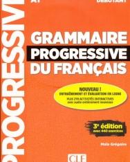 Grammaire progressive du français - Niveau débutant - 3eme édition - Livre + CD + Appli-web