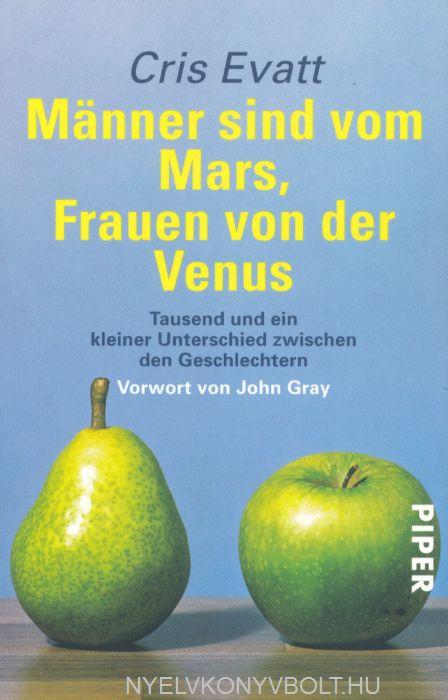 Cris Evatt: Männer sind vom Mars, Frauen von der Venus