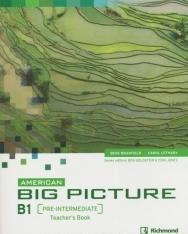 American Big Picture Pre-Intermediate Teacher's Book with Class Audio Cds