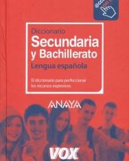 Vox Diccionario Secundaria y Bachillerato Lengua Espanola - acesso on line