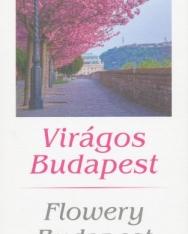 Virágos Budapest falinaptár 2018 (13,5 x 33 cm)