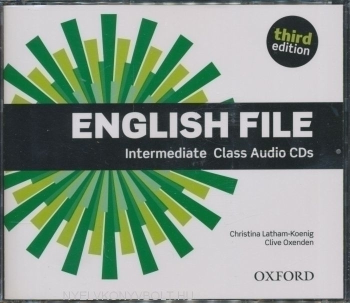 English File - 3rd Edition - Intermediate Class Audio CDs (3)