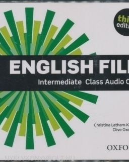 English File - 3rd Edition - Intermediate Class Audio CDs (3)