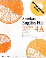 American English File 4A MultiPack - Student Book+Workbook+MultiROM