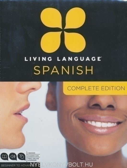 Living Language - Spanish Complete Edition - 3 Books & 9 Audio CDs