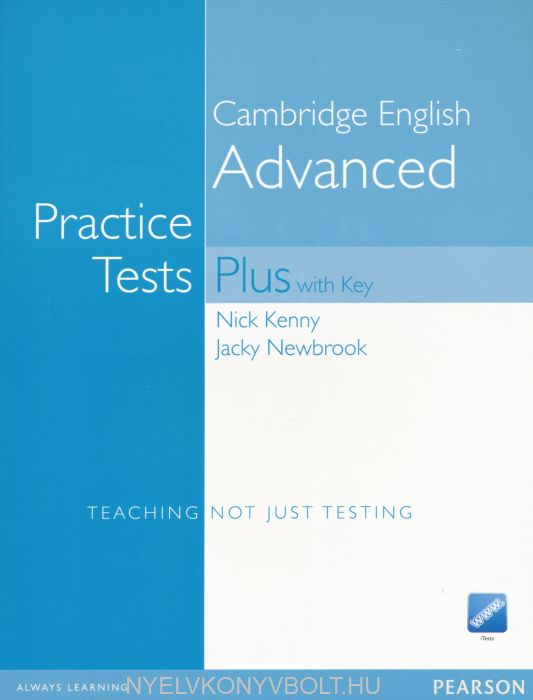 CAE Practice Tests Plus with Key, Audio CDs (2) and iTests CD-ROM - New Edition