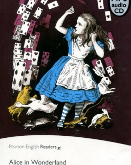 Alice in Wonderland with MP3 CD - Penguin Readers Level 2