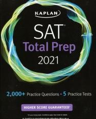 Kaplan SAT Total Prep 2021: 5 Practice Tests + Proven Strategies + Online + Video