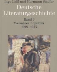 Deutsche Literaturgeschichte Band 9.