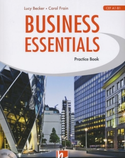 Business Essentials Practice Book with audio CD A1-B1