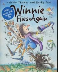 Winnie Flies Again with Audio CD