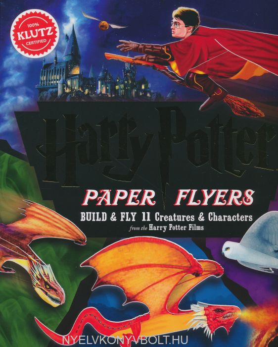 Harry Potter Paper Flyers -  Build & Fly 11 Creatures & Characters from the Harry Potter Films