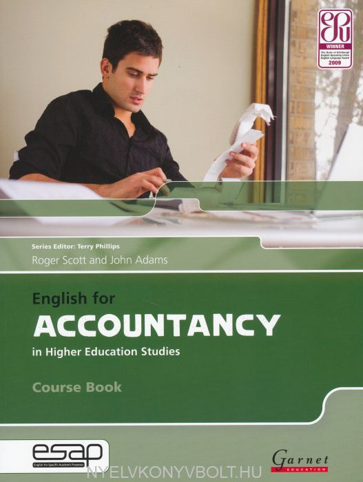 English for Accountancy in Higher Education Studies Course Book with Audio CDs (2)