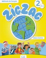 ZigZag 2 Méthode de francais Livre de l'éleve + CD Audio A1.2
