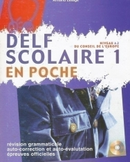 DELF Scolaire 1 + Audio CD - En Poche