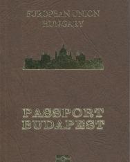 Passport Budapest jegyzetfüzet