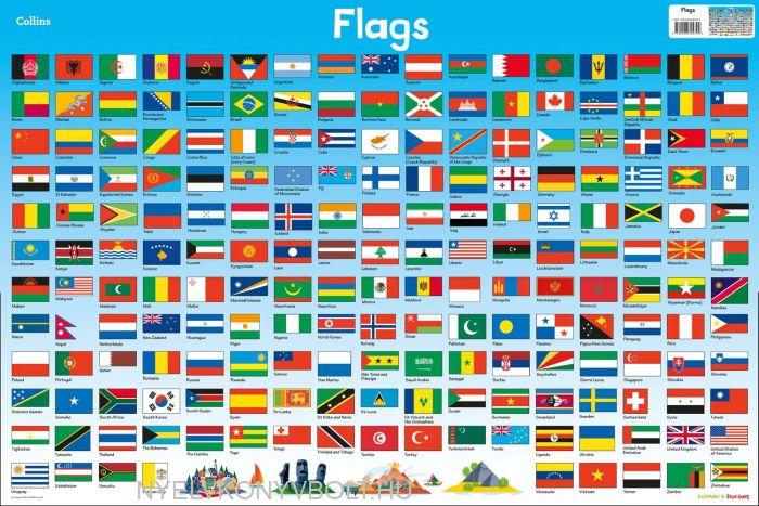 Children's Poster - Flags