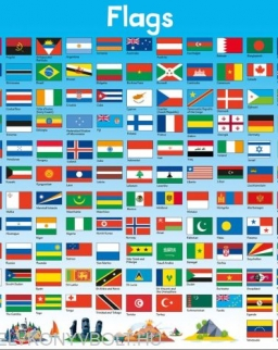 Children's Poster - Flags