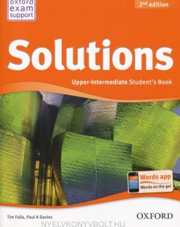 Solutions Upper-Intermediate 2nd Edition Student's Book